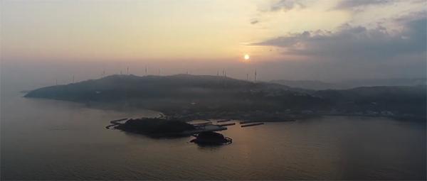 写真:淡路島・丸山漁港朝焼け 提供:SilverNextLens