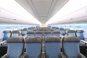 「デルタ・プレミアムセレクト」A350で登場! デルタ航空初となる本格的なプレミアムエコノミークラス